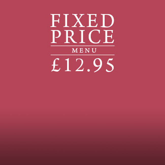 Fixed Price Menu at The Wavendon Arms