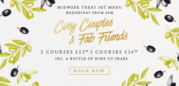Midweek treat set menu at The Wavendon Arms