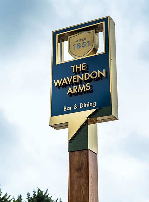 Relax at The Wavendon Arms
